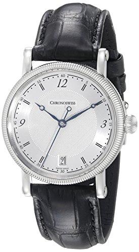 Chronoswiss Women's CH-2043/11-1 Sirius Analog Display Automatic Self Wind Black Watch