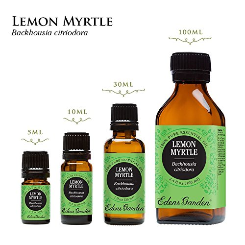 Edens Garden Lemon Myrtle 10 ml 100% Pure Undiluted Therapeutic Grade Essential Oil GC/MS Tested by Edens Garden (Image #2)