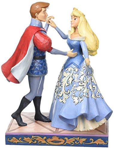 Jim Shore Disney Traditions by Enesco Aurora and Prince Philip Dancing Figurine 4059733