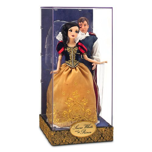 Disney Exclusive 11.5 Inch Fairytale Designer Collection Doll Set Snow White & The Prince