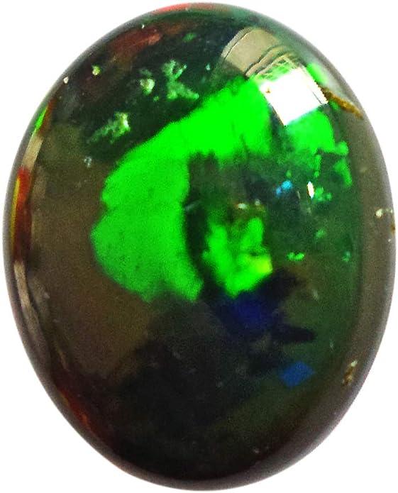 jewelry Making weight 7 Carat Multi Fire Ethiopian Opal Gemstone Beautiful Natural Ethiopian Opal Cabochons Ovel Shape 12x15 MM Size
