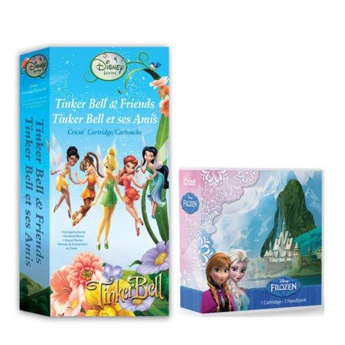 Cricut Cartridge Bundle Disney Frozen & Tinker Bell and F...