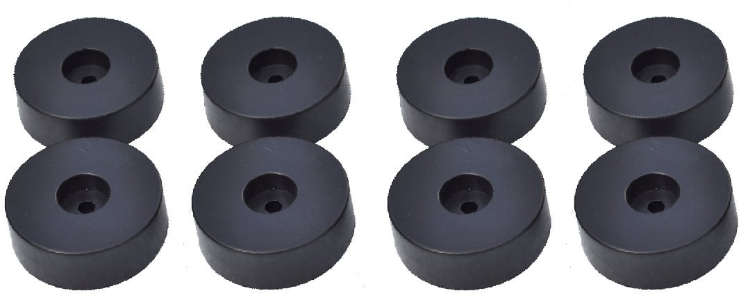 Micity speaker piedino in gomma Pad speaker Spike Pad scarpe piedi set 45 mm * 15 mm 45mm*15mm