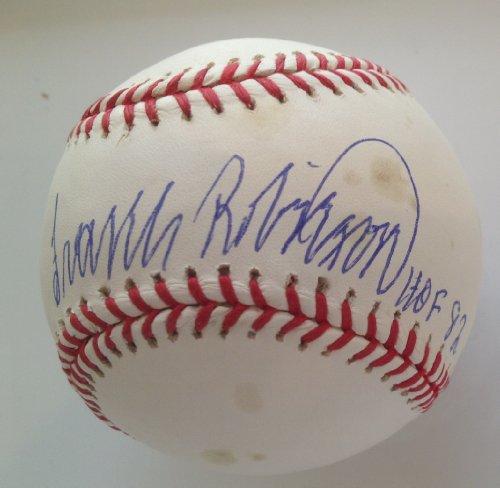 Frank Robinson Signed Mlb Baseball - 7