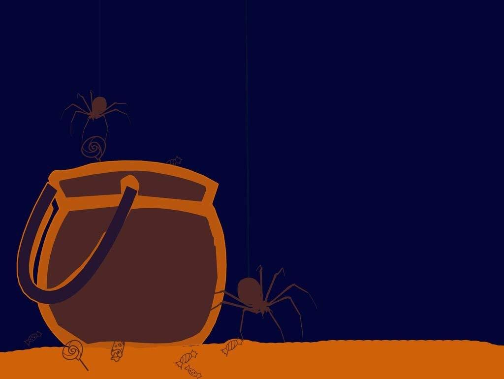 Lais Puzzle Dibujos Animados de Caldera de Halloween con arañas 2000 Piezas