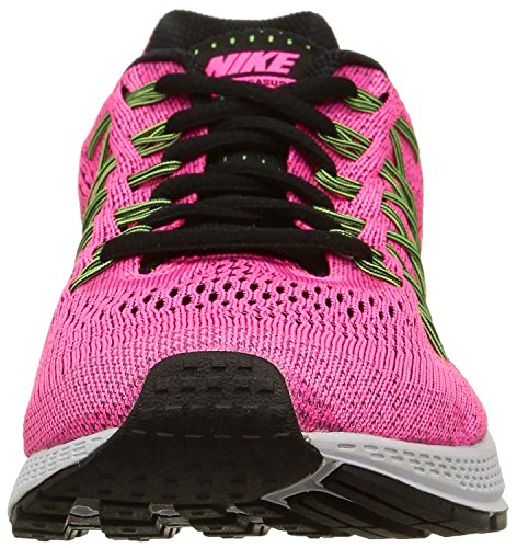 Nike W Air Zoom Pegasus 32 N - Zapatillas de running Mujer Rosa (Pink Pow / Blk-Brly Vlt-Ghst Grn)