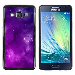 Stuss Case / Funda Carcasa protectora - Majestic Purple Filled Sky - Samsung Galaxy A3