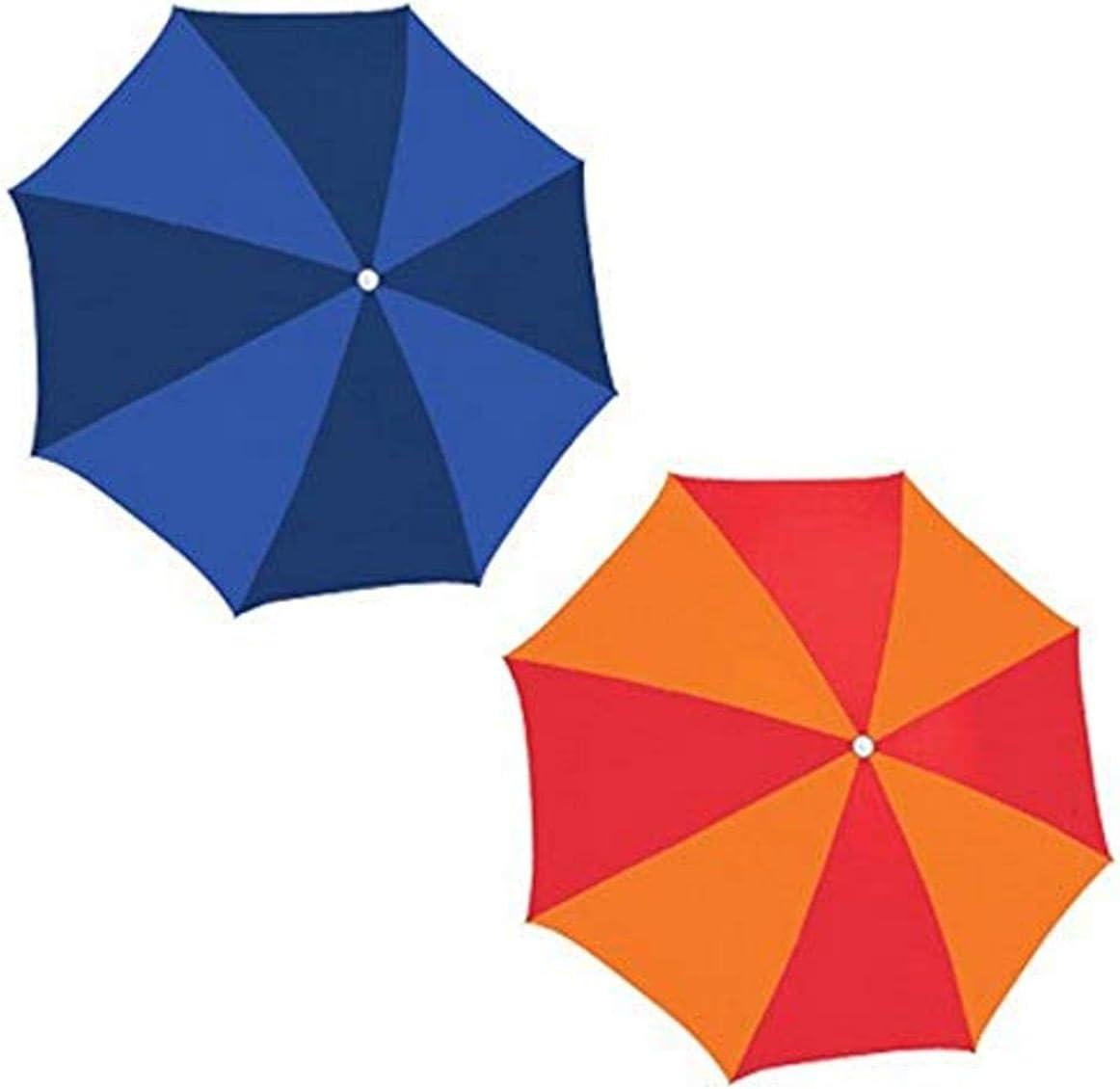 Rio Brands UB884-TS Poly Umbrella, 6-Feet, Assorted