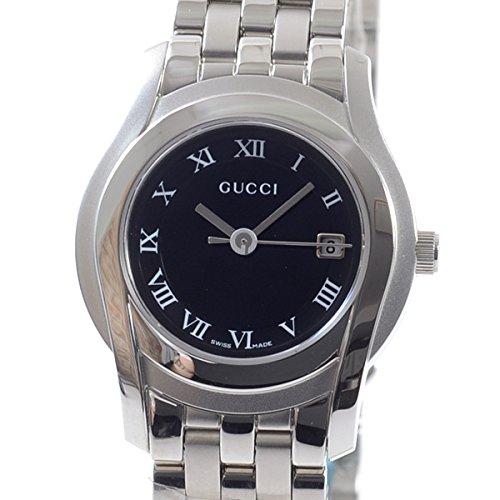 [グッチ]GUCCI 腕時計 Gクラス YA055503 中古[1307571]ブラック 付属:国際保証書 ボックス B07DXQMDPB