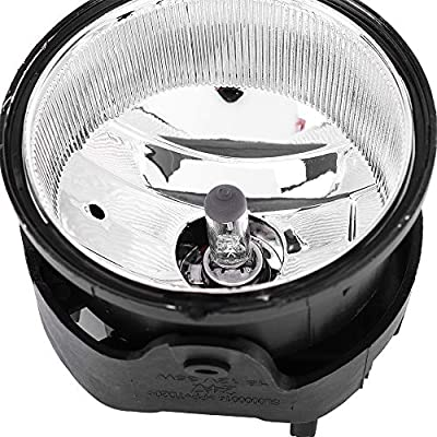 Roadstar Fog Lights 12V 35W H8 Halogen Lamp Bulb Fit for 2005-2008 Chrysler Pacifica &Town & Country with Wire Harness Smoke Lens: Automotive