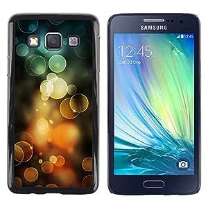 Exotic-Star ( Orange Bubbles Spring Sun Summer ) Fundas Cover Cubre Hard Case Cover para Samsung Galaxy A3 / SM-A300