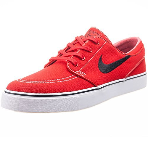 reputable site f796b 45eec Galleon - Nike Men s Zoom Stefan Janoski Cnvs Skate Shoe University Red Gum  Light Brown White Black 11.5 D(M) US