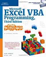 Microsoft Excel VBA Programming for the Absolute Beginner, 3rd edition Front Cover