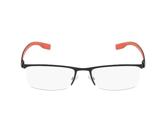 63b3dfd140 Hugo Boss eyeglasses BOSS 0610 FQA Metal Matt Black - Matt Red at Amazon  Women s Clothing store