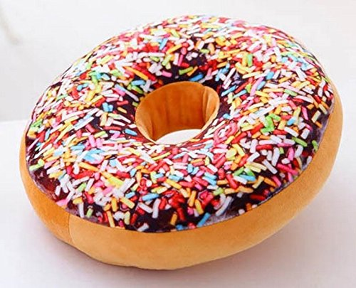 Primi Lovely Novelty Donut almohada Niza cojín de peluche de ...