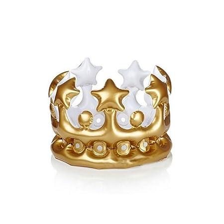 Amazon.com: Tuscom corona hinchable, novedoso juguete ...