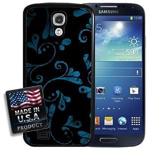 Dark Floral Wallpaper Galaxy S4 Hard Case