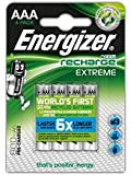 Energizer Accu Recharge Extreme Rechargeable AAA Battery (Pack of 4)