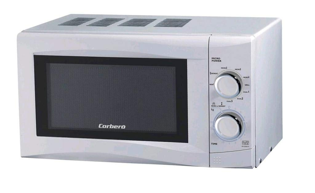 MICROONDAS CORBERO CMICG250GW GRIL 20L 700W: Amazon.es