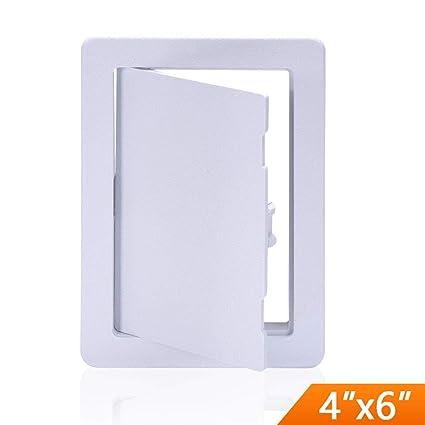 amazon com suteck plastic access panel drywall ceiling 4 x 6