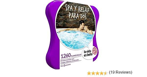 LA VIDA ES BELLA - Caja Regalo - SPA Y RELAX PARA DOS - 1260 planes de bienestar como circuitos termales, masajes relajantes y mucho más: Amazon.es: Deportes y aire libre