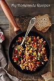 My Homemade Recipes: Recipe Journal (Blank Cookbooks) (Volume 56)