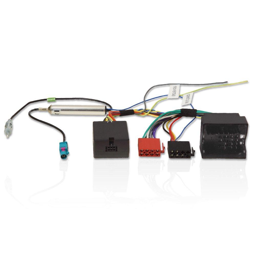Adaptateur de bus CAN Interface pour Seat. Pour installation d'autoradio GPS et à Ibiza, Leon, Alhambra, Altea, Toledo et Mii morebasics