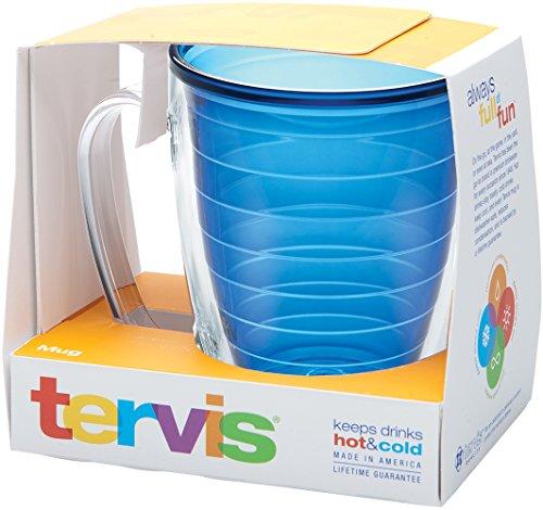 Fiesta Dishwasher Safe Mug (Tervis Boxed Mug, Sapphire)