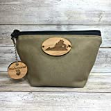Personalized State Camping Gear Bag with Keychain