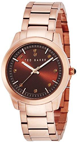 Ted Baker Women's 10015169 Classic Analog Display Japanese Quartz Rose Gold Watch