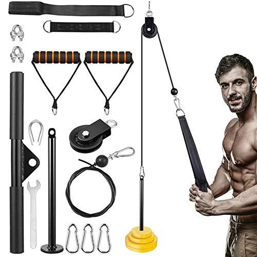 Fitness Katrol Kabel Systeem Kabelsysteem Fitness Voor Borst Biceps, Triceps, Buikspieren Krachttraining