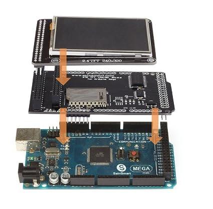 SainSmart 6,1 cm TFT pantalla táctil LCD + 12,7 cm TFT/