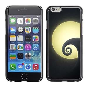 [Neutron-Star] Snap-on Series Teléfono Carcasa Funda Case Caso para Apple (4.7 inches!!!) iPhone 6 / 6S [ Nuit minimaliste]