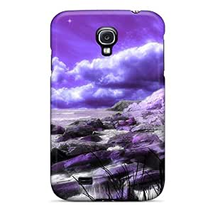 Galaxy S4 Cover Case - Eco-friendly Packaging(the Edge Of Heaven)