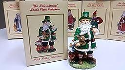 Irish Father Christmas Ireland-International Santa Claus Collection- SC16 Figurine