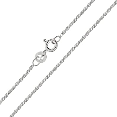 10, 16, 18, 20, 22, 24, 26, 30 Inch Sterling Silver 1.1mm Italian Box Chain Necklace