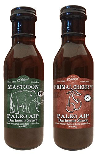 UPC 741187915366, KC Natural - Paleo AIP Barbecue Sauce 14 oz, Combo Pack (Mastodon and Primal Cherry)