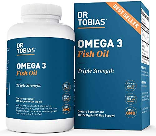 Vitamins & Supplements: Dr. Tobias Omega 3 Fish Oil