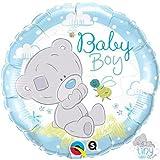 (US) Tiny Tatty Teddy Baby Boy Qualatex 18 Inch Foil Balloon