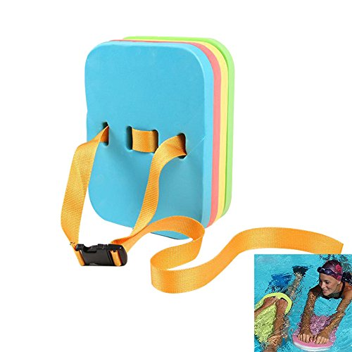 HOMEJU Back Float Swim Aids Kid Swiming Training Kickboard Learning Float Board Waterproof Floaties Device with 4 Layers Split for Kids Toddlers and Adults