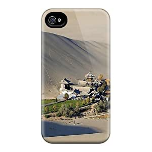 Tough Iphone MpyChAy6360tePnf Case Cover/ Case For Iphone 4/4s(gobi Desert Oasis)
