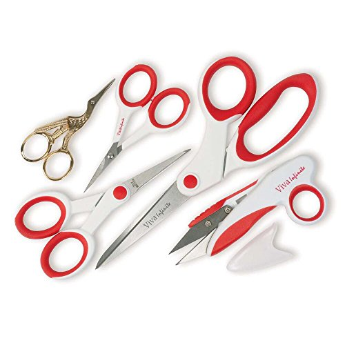 Nice Birch Haberdashery Household Scissors Set 5pc