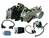 Long Case 150cc Engine GY6 Scooter For 12-inch/13-inch wheel scooter Engine Motor 150 Cvt Auto 4-Stroke Electric Start for Coolster Taotao Roketa
