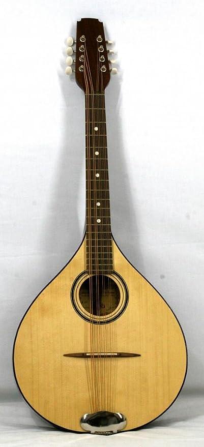 Musikalia Mandolina octavada irlandesa de luthier, fabricada en caoba y con diapasón de 53 cm