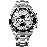 Globalfad Analogue White Dial Men's Watch - Cubbb0-A1
