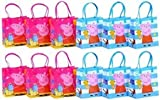 Peppa Pig Party Favor Goodie Gift Bag - 6