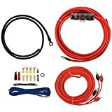 T-SPEC V6-RAK8 v6 Series Amp Installation Kit with RCA Cables (8 Gauge)