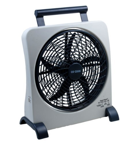 Tall Portable Fan : O cool inch portable smart power fan with ac adapter