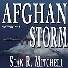 Afghan Storm Audiobook by Stan R. Mitchell Narrated by Jay Snyder