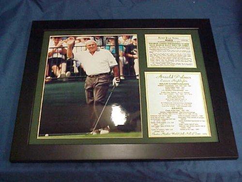 11×14 Framed&Matted Arnold Palmer Photo Hof Awards&Majors 8X10 PHOTO PGA